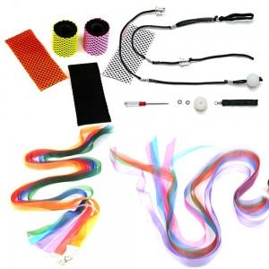 Fairy Tails Poi - colorful, balanced  and custom designed